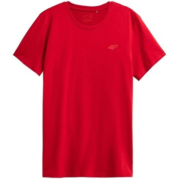 Kleidung Herren T-Shirts 4F TSM352 Rot