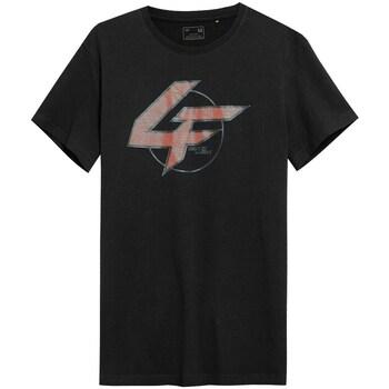 Kleidung Herren T-Shirts 4F TSM022 Schwarz