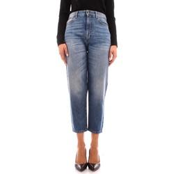 Kleidung Damen Boyfriend Jeans Manila Grace J414D6 BLAU