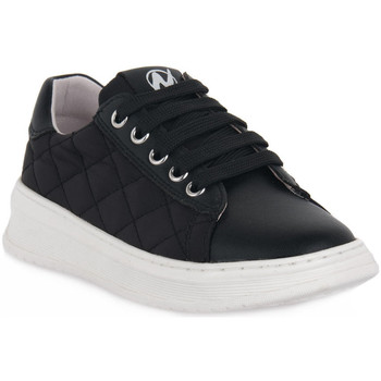 Schuhe Mädchen Sneaker Low Naturino A01 NIXOM PLATINO Nero