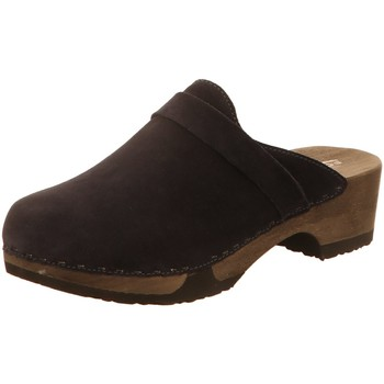 Schuhe Damen Pantoletten / Clogs Softclox Pantoletten TAMINA S3345 blau