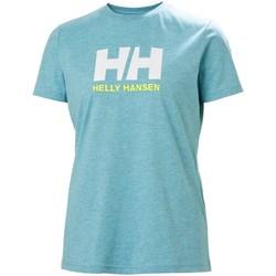Kleidung Damen T-Shirts Helly Hansen W Logo Tshirt Hellblau