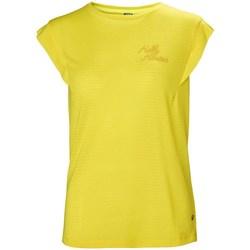 Kleidung Damen T-Shirts Helly Hansen Siren Spring Gelb