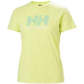Kleidung Damen T-Shirts Helly Hansen W Logo Tshirt Grün