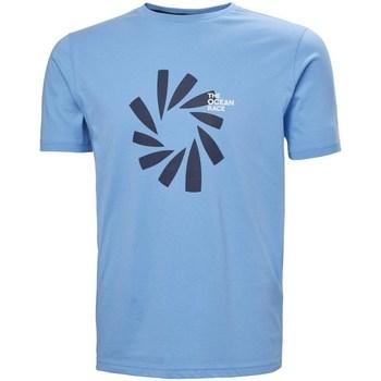 Kleidung Herren T-Shirts Helly Hansen The Ocean Race Hellblau