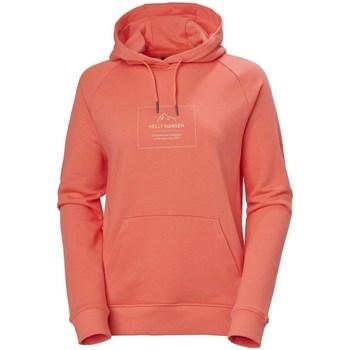 Kleidung Damen Sweatshirts Helly Hansen F2F Cotton Hoodie Rot