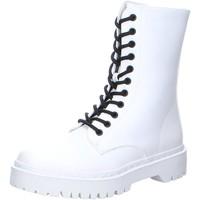 Schuhe Damen Stiefel La Strada Stiefeletten 218.0167-1004 weiß