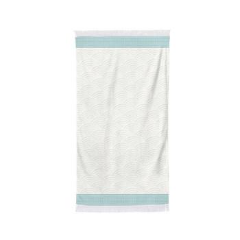 Home Handtuch und Waschlappen Maison Jean-Vier Artea Lagune