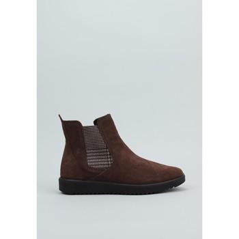 Schuhe Damen Low Boots Vulladi  Braun