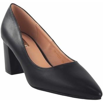 Schuhe Damen Pumps Bienve Damenschuh  1a-1037 schwarz Schwarz