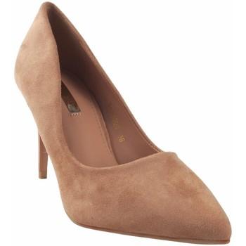 Schuhe Damen Pumps Bienve Damenschuh  1a-0320 / 2a-9586 lachs Rose