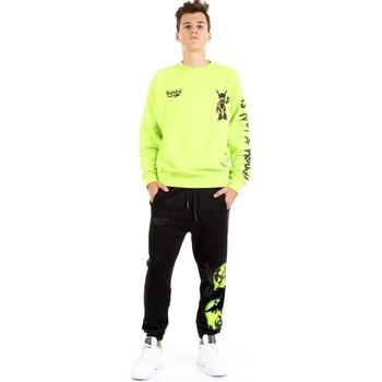 Kleidung Herren Sweatshirts Disclaimer 50813 Fluogelb