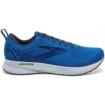 Schuhe Herren Laufschuhe Brooks Levitate 5 Blau