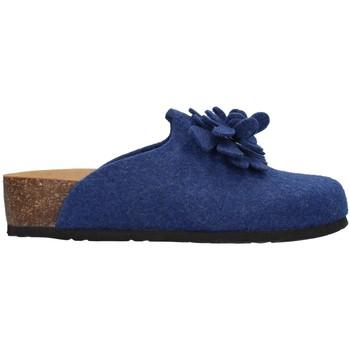 Schuhe Damen Hausschuhe Bionatura 12CANAZ-FI-FLB88 BLAU