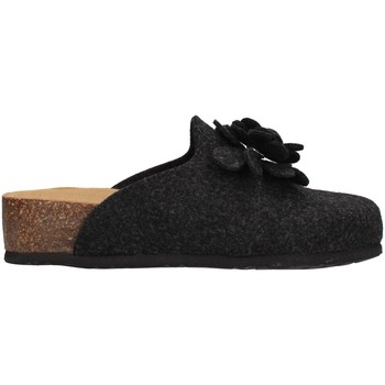 Schuhe Damen Hausschuhe Bionatura 12CANAZ-FI-FLA11 ANTHRAZIT