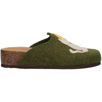 Schuhe Damen Hausschuhe Bionatura 12GAT20-I-FELV74 GRÜN