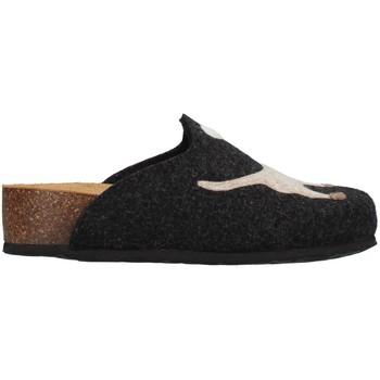 Schuhe Damen Hausschuhe Bionatura 12ARGO-I-FELA118 ANTHRAZIT