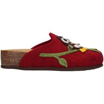 Schuhe Damen Hausschuhe Bionatura 12GUFO-I-FELB503 BORDEAUX
