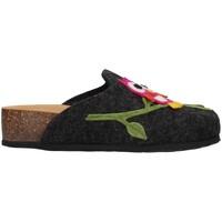 Schuhe Damen Hausschuhe Bionatura 12GUFO-I-FELA118 ANTHRAZIT
