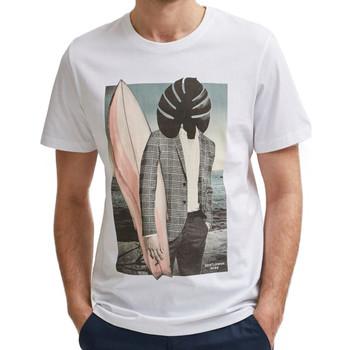 Kleidung Herren T-Shirts Selected 16079035 Weiss