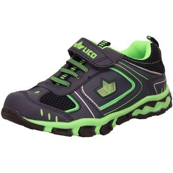 Schuhe Jungen Derby-Schuhe & Richelieu Brütting Schnuerschuhe Create VS Blinky 300225 blau