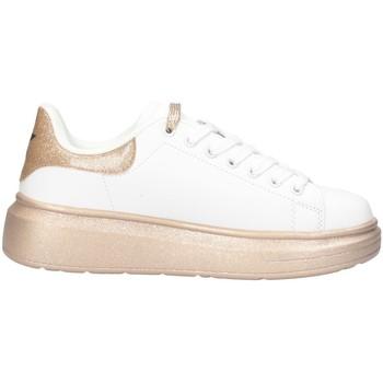 Schuhe Damen Sneaker Low Shop Art SA80222 WEISSES GOLD
