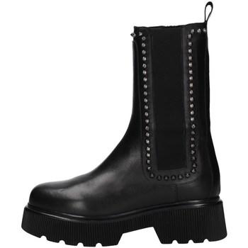 Schuhe Damen Klassische Stiefel Albano 2023A Schwarz