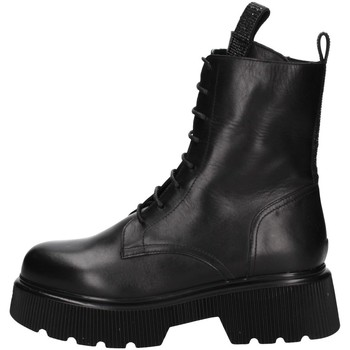 Schuhe Damen Ankle Boots Albano 1083A Schwarz