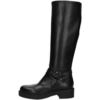 Schuhe Damen Klassische Stiefel Albano 1022A Schwarz