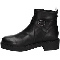 Schuhe Damen Ankle Boots Albano 1020A Schwarz