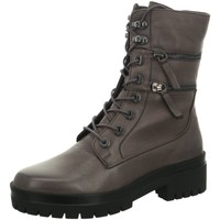 Schuhe Damen Stiefel Regarde Le Ciel Stiefeletten OLGA-05-5963 grau