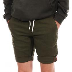 Kleidung Herren Shorts / Bermudas Paname Brothers PB-BRAVO Grün