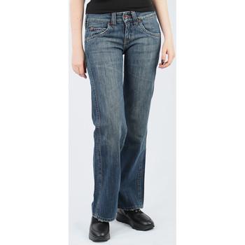 Kleidung Damen Fließende Hosen/ Haremshosen Lee Avalon Loose Fit L344BH75 blau