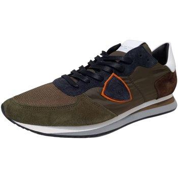 Schuhe Herren Derby-Schuhe & Richelieu Philippe Model Schnuerschuhe TZLUW052 grün