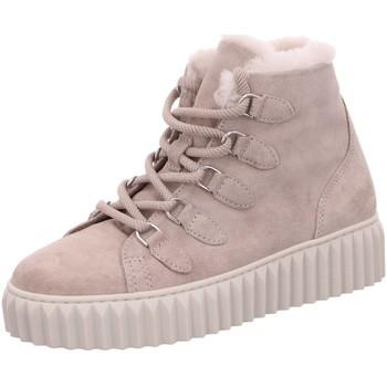 Schuhe Damen Stiefel Alpe Stiefeletten 21501107 grau