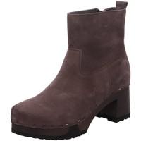 Schuhe Damen Stiefel Softclox Stiefeletten Hazel S355301 grau