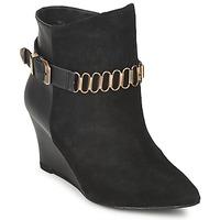 Schuhe Damen Low Boots Pastelle ALINE Schwarz