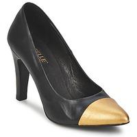 Schuhe Damen Pumps Pastelle AMELINE Schwarz