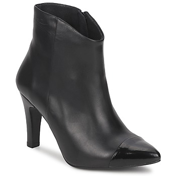Schuhe Damen Low Boots Pastelle ARIEL Schwarz