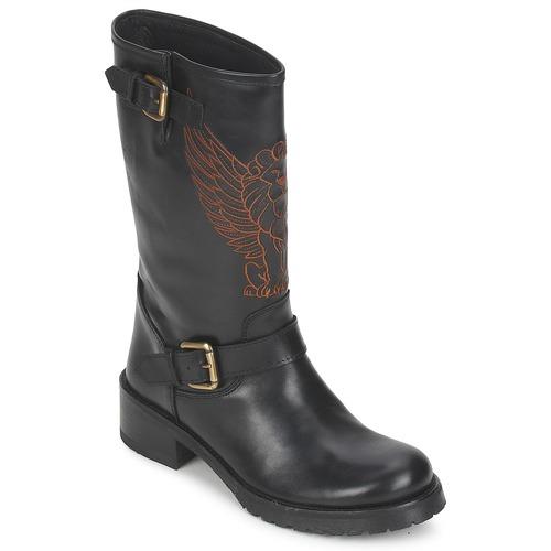 Pastelle Pastelle Pastelle ANGEL Schwarz  Schuhe Boots Damen 79,60 046476