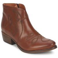 Schuhe Damen Boots Pastelle JANE Camel