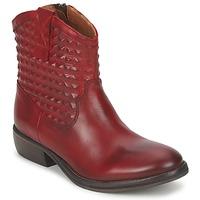 Schuhe Damen Boots Pastelle ELSA Bordeaux