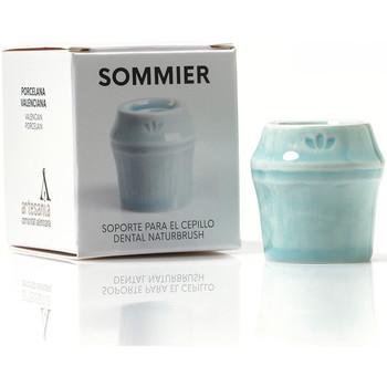Home Kerzen, Diffusoren Naturbrush Sommier Soporte Para Cepillo Dental blau 1 Pz