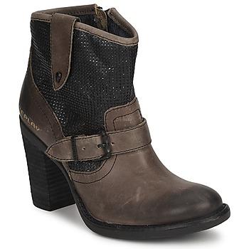 Schuhe Damen Low Boots Replay GENIE Schwarz