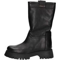 Schuhe Damen Klassische Stiefel Albano 1074A Schwarz