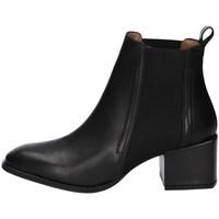 Schuhe Damen Low Boots Albano 1050A Schwarz