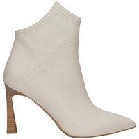 Schuhe Damen Ankle Boots Albano 1007A Weiss