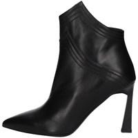 Schuhe Damen Ankle Boots Albano 1007A Schwarz