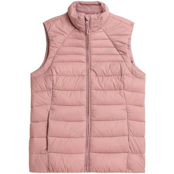 Kleidung Damen Daunenjacken 4F Women's Vest Rose