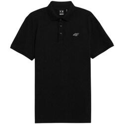 Kleidung Herren Polohemden 4F TSM356 Schwarz